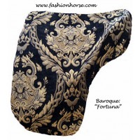 Dressage Cover Baroque Fortuna (Black Gold)