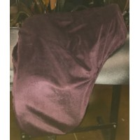 Dressage Cover Aubergine Solid