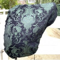 Dressage Cover Baroque Dublin (Black Green)