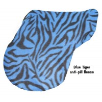 Pony Cover Fleece Tiger Blue