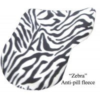 Pony Cover Fleece Zebra