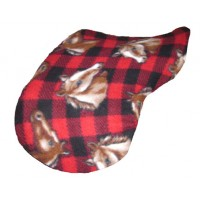 Pony Cover Fleece Red Horse