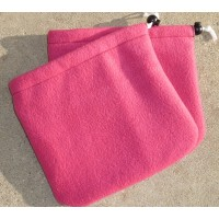 "Stirrup Socks ""Hot Pink Fleece"""