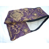 "Stirrup Bags ""Provence"" Purple Gold"