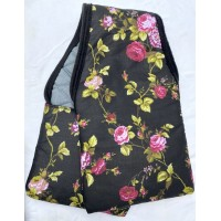 "Stirrup Bags ""Black Rose"""