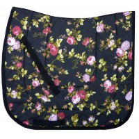 "Dressage Pad ""Black Rose"""