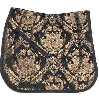 Dressage Pad Baroque Fortuna (Black Gold)