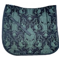 Dressage Pad Baroque Dublin (Black with Green)