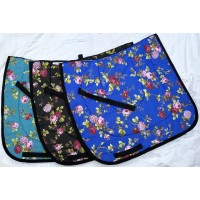 "Dressage Pad ""Blue Rose"""