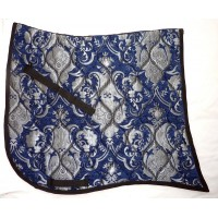 Dressage Pad ST Baroque Silver Blue