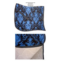 Dressage Pad ST Baroque Barcelona Blue Black