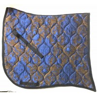 Dressage Pad ST Baroque Brown with Blue