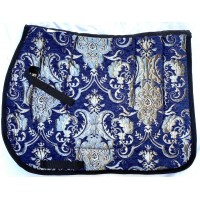 English Pad Baroque Argento  (Navy Silver)
