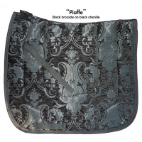 Dressage Pad and Cover PIAFFE Black Baroque