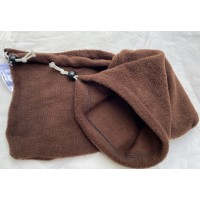 "Stirrup Socks ""Brown Fleece"""