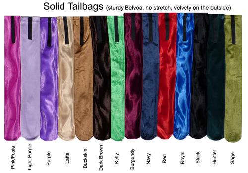 One Of Our Quality Solid Tail Bags